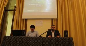 Apertura dell'evento con l'ospite sceikh Bilal Teqja
